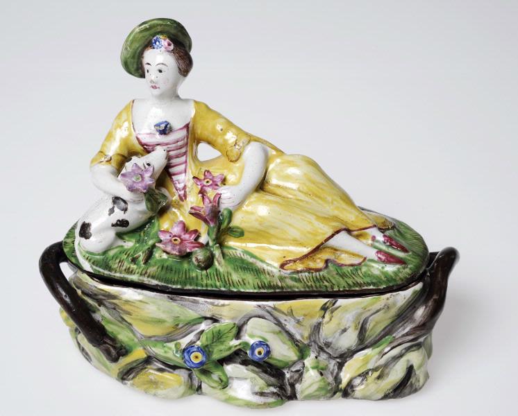 Toalettask från Marieberg, 1700-tal, Kulturens samlingar